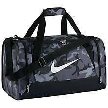 Buy Nike Brasilia 6 Graphic Training Duffel Bag, Small Online at johnlewis.com