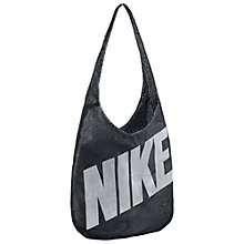Buy Nike Reversible Tote Bag, Black/White Online at johnlewis.com