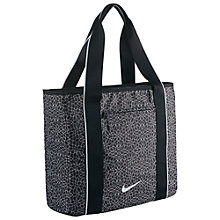 Buy Nike Legend Track Tote Bag, Black Online at johnlewis.com