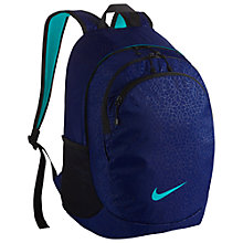 Buy Nike Legend Backpack, Deep Royal Blue/Omega Blue Online at johnlewis.com