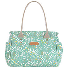 Buy Brakeburn Floral Day Bag, Green Online at johnlewis.com