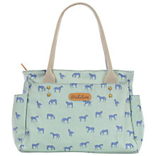 Buy Brakeburn Horses Day Bag, Green Online at johnlewis.com