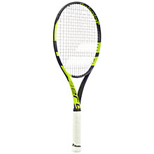 Buy Babolat Pure Aero Team Adult Aluminium Fused Graphite Tennis Racket, Grey/Green Online at johnlewis.com