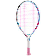 "Buy Babolat Butterfly 19"" Junior 5 - 7 Years Old Aluminium Tennis Racket, Multi Online at johnlewis.com"