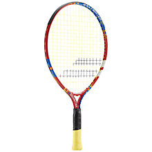 "Buy Babolat Ballfighter 21"" Junior 6 - 8 Years Old Aluminium Tennis Racket, Red/Blue Online at johnlewis.com"