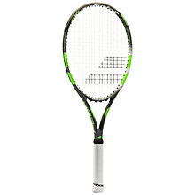 Buy Babolat Flow Lite Adult Aluminium Fused Graphite Tennis Racket, Grey/Green Online at johnlewis.com