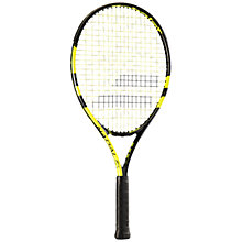 Buy Babolat Nadal Junior Aluminium Tennis Racket, Yellow/Black Online at johnlewis.com