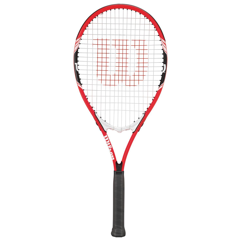Wilson Wilson Federer Aluminium Tennis Racket, Red/White, L3