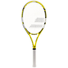 Buy Babolat Evoke 102 Aluminium Fused Graphite Beginners Tennis Racket, Yellow/Black Online at johnlewis.com