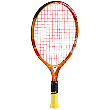 "Buy Babolat Ballfighter 17"" Junior 3 - 5 Years Old Aluminium Tennis Racket, Orange/Red Online at johnlewis.com"