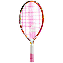 "Buy Babolat Butterfly 21"" Aluminium Junior 5 - 7 Years Old Tennis Racket, Multi Online at johnlewis.com"