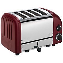 Buy Dualit Made to Order Classic 4-Slice Toaster Online at johnlewis.com