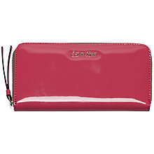 Buy Calvin Klein Flow Large Ziparound Purse Online at johnlewis.com