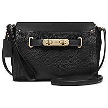 Buy Coach Swagger Leather Wristlet Online at johnlewis.com