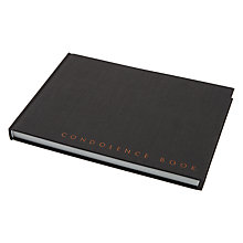 Buy John Lewis Condolence Book Online at johnlewis.com