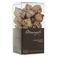 Buy Ooomeringues Chocolate Stars, Dairy Free Online at johnlewis.com