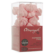 Buy Ooomeringues Raspberry Meringue Stars Online at johnlewis.com