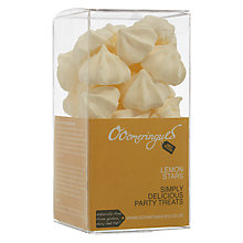 Buy Ooomeringues Lemon Stars, Dairy Free Online at johnlewis.com