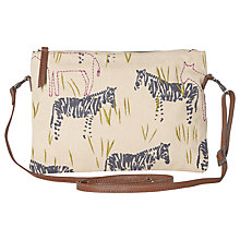 Buy White Stuff Zebra Crossbody Bag, Multi Online at johnlewis.com
