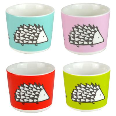 Scion Spike the Hedgehog Egg Cups, Set of 4