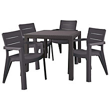 Buy Suntime Ibiza Table & 4 Chairs Set Online at johnlewis.com
