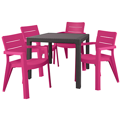 Suntime Ibiza Table & 4 Chairs Set