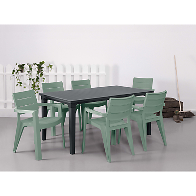 Suntime Ibiza Table & 6 Chairs Set