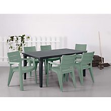 Buy Suntime Ibiza Table & 6 Chairs Set Online at johnlewis.com