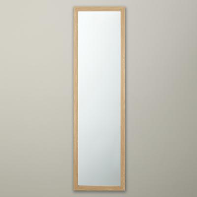 Image of John Lewis The Basics Wood Effect Hall Mirror