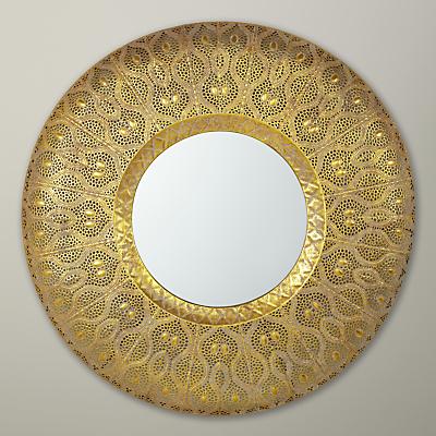 Image of Libra Filigree Mirror, Gold