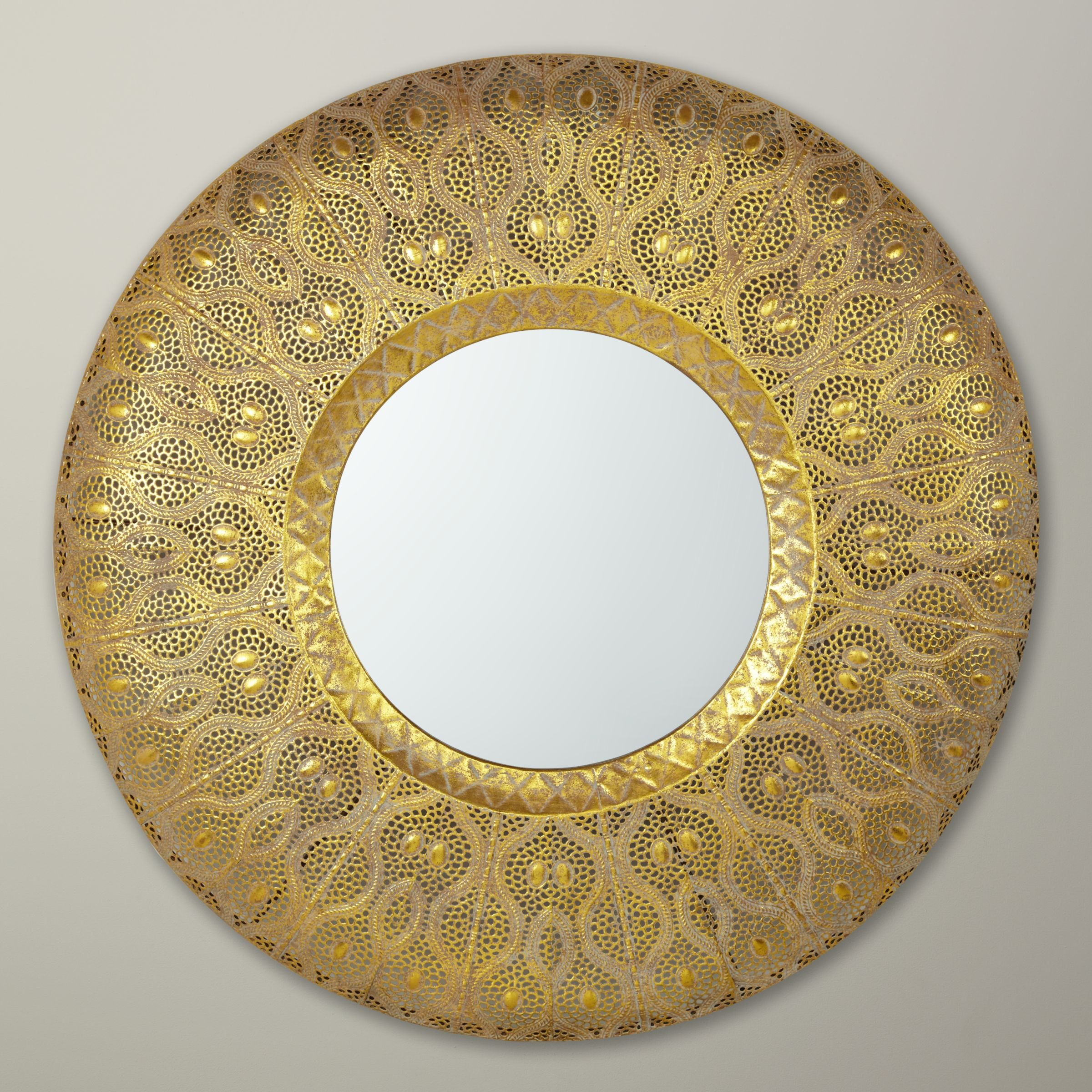 Libra Libra Filigree Mirror, Gold