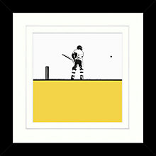 Buy Jacky Al-samarraie - Cricket Framed Print, 34 x 34cm Online at johnlewis.com