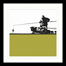 Buy Jacky Al-Samarraie - Fisherman Framed Print, 34 x 34cm Online at johnlewis.com