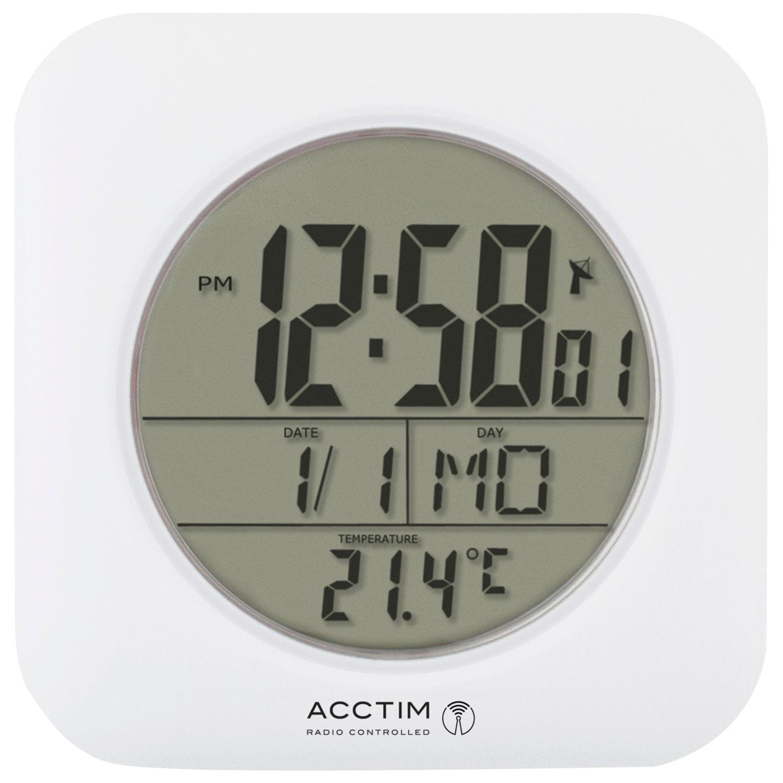Acctim Acctim Bathroom Clock Wall Clock, White