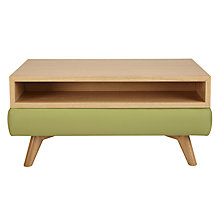 Buy John Lewis Barbican Semi-Aniline Leather Storage Coffee Table Online at johnlewis.com