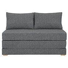 Buy John Lewis Kip Small Sofa Bed, Riley Nordic Blue Online at johnlewis.com
