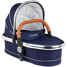 Buy iCandy Peach Blossom Twin Carrycot, Royal Online at johnlewis.com