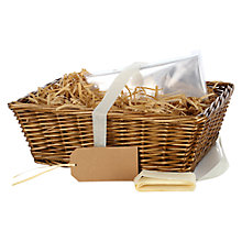 Buy John Lewis Build Your Own Hamper Open Basket Online at johnlewis.com