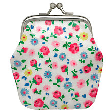 Buy Cath Kidston Children's Little Flower Buds Mini Clasp Purse, Ivory/Multi Online at johnlewis.com