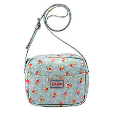 Buy Cath Kidston Children's Ditsy Apple Messenger Bag, Pale Blue Online at johnlewis.com
