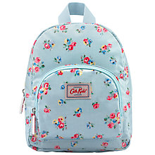 Buy Cath Kidston Children's Arley Bunch Mini Rucksack, Aqua/Multi Online at johnlewis.com