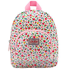 Buy Cath Kidston Children's Little Flower Buds Mini Rucksack, Ivory/Multi Online at johnlewis.com