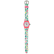 Buy Cath Kidston Children's Trailing Daisy Watch, Ivory/Multi Online at johnlewis.com