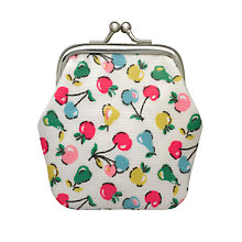 Buy Cath Kidston Children's Fruit Mini Clasp Purse, Cream Online at johnlewis.com