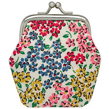 Buy Cath Kidston Children's Rosemoor Ditsy Mini Clasp Purse, Cream/Multi Online at johnlewis.com
