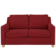 Buy John Lewis Bizet Small Open Sprung Sofa Bed, Elena Crimson Red Online at johnlewis.com