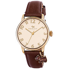 Buy Radley Women's Blair Leather Strap Charm Watch Online at johnlewis.com