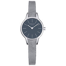 Buy Radley RY4249 Women's Millbank Mesh Bracelet Strap Watch, Silver/Ash Grey Online at johnlewis.com