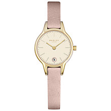 Buy Radley Women's Long Acre Date Leather Strap Watch Online at johnlewis.com