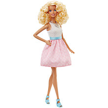 Buy Barbie Fashionistas Doll Powder Pink Online at johnlewis.com